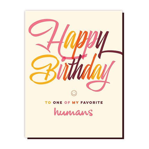 Favorite Humans