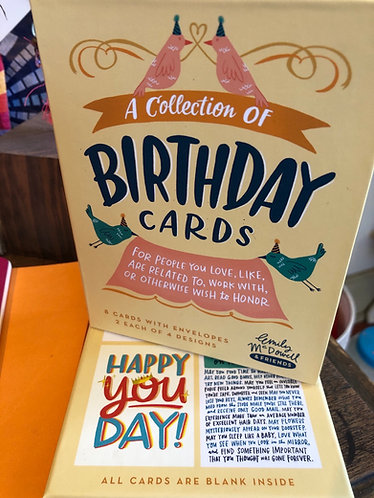 Birthday cards - Emily McDowell