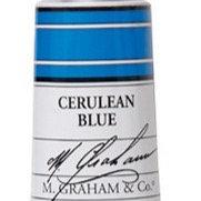 M. Graham Acrylic Cerulean Blue 60ml tube