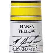 M. Graham Acrylic Hansa Yellow 60ml tube