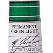 M. Graham Acrylic Permanent Green Light 60ml tube