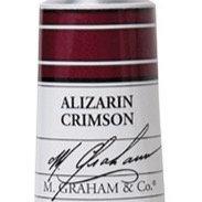 M. Graham Acrylic Alizarin Crimson 60ml tube
