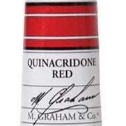 M. Graham Acrylic Quinacridone Red 60ml tube