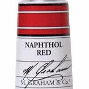 M. Graham Acrylic Napthol Red 60ml tube