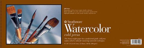 Strathmore 400 Series 6x18 Watercolor Paper