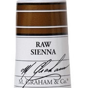 M. Graham Acrylic Raw Sienna 60ml tube