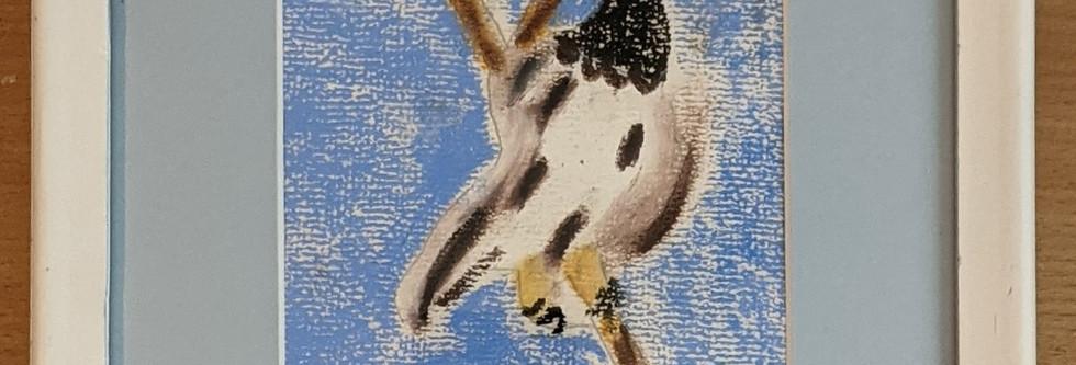 Pastel Bird by Karen McGann