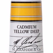 M. Graham Acrylic Cadmium Yellow Deep 60ml tube