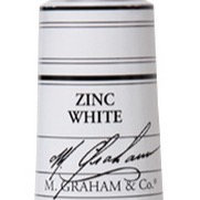 M. Graham Acrylic Zinc White 60ml tube