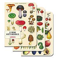 Mini Notebook Set - Jardin