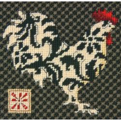 Rooster Mini Needlepoint Kit