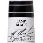 M. Graham Acrylic Lamp Black 60ml tube