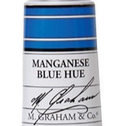 M. Graham Acrylic Manganese Blue Hue 60ml tube