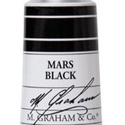 M. Graham Acrylic Mars Black Hue 60ml tube