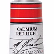 M. Graham Acrylic Cadmium Red Light 60ml tube