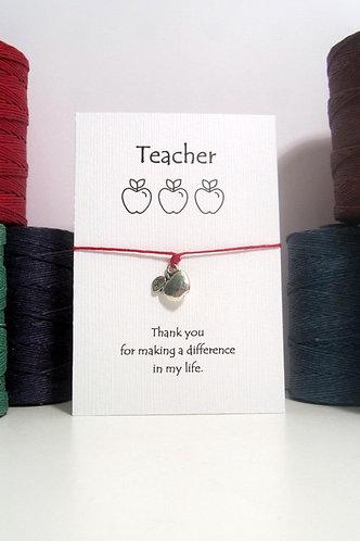 Teacher Appreciation Bracelet