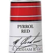 M. Graham Acrylic Pyrrol Red 60ml tube