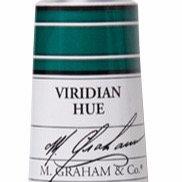 M. Graham Acrylic Viridian Hue 60ml tube
