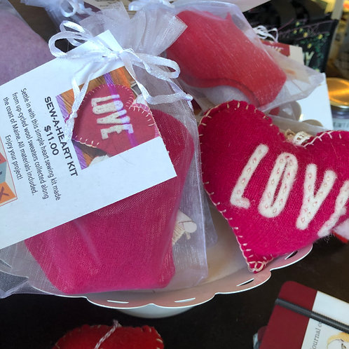 Sew-A-Heart Kit