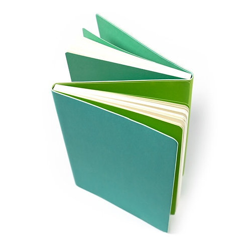 Flipside double sided notebook