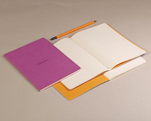 Sewn Spine Rhodiarama Notebook