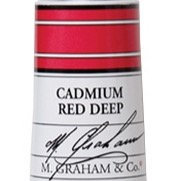 M. Graham Acrylic Cadmium Red Deep 60ml tube