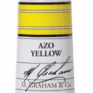 M. Graham Acrylic Azo Yellow 60ml tube
