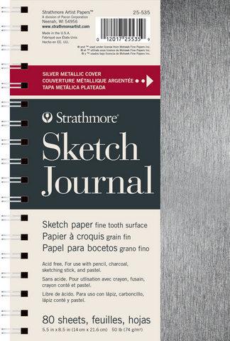 5.5x8.5 Strathmore Metallic Journals - Sketch