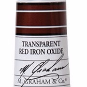 M. Graham Acrylic Transparent Red Iron Oxide 60ml tube