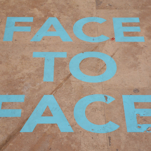 """"""" FACE TO FACE"""""""