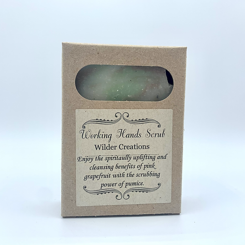 Working Hands Scrub Soap