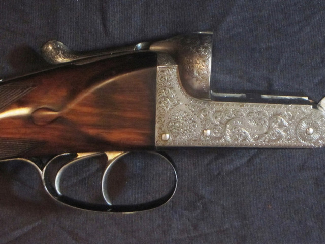 Best London 12-Bore Boxlock by John Wilkes