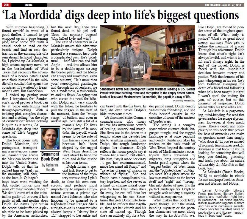 Katie review La Mordida Beaumont Examine