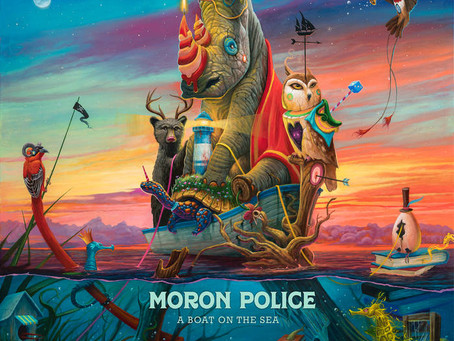 'Moron Police' - 'A Boat on the Sea' (album)