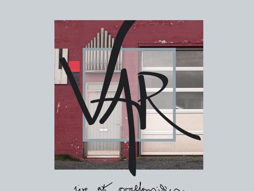 VAR (Iceland) - 'Live at Orgelsmidjan' (EP)