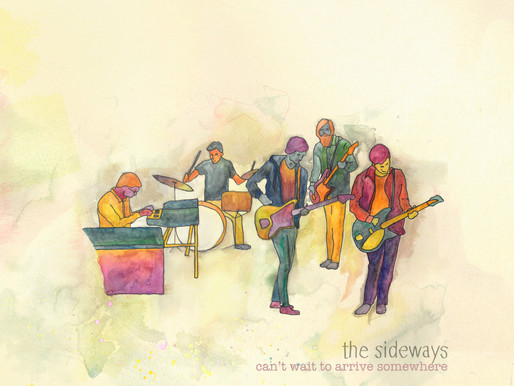 'The Sideways' - Can't Wait to Arrive Somewhere (album)