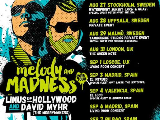 David Myhr - Live in the UK!