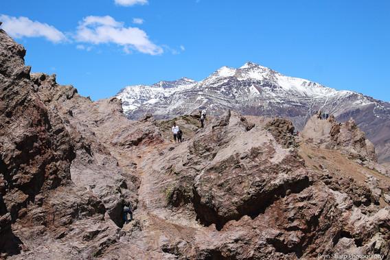 Muela del Diablo, Chile