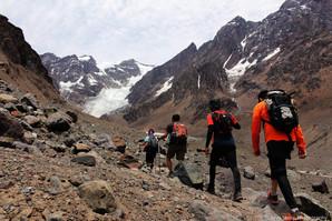Glaciar Juncal, Chile