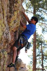 Send or Mend (5.9-), Ridgeline, Mt. Lemmon, AZ