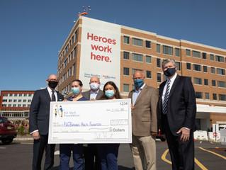 New Jersey Golf Foundation Donates $20,000 to RWJBarnabas Health Emergency Response Fund