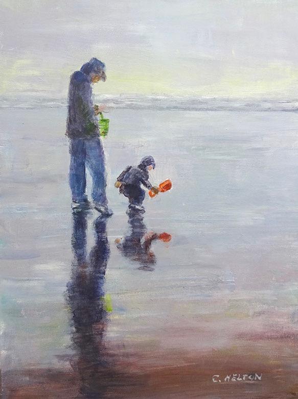 Seaside Reflection