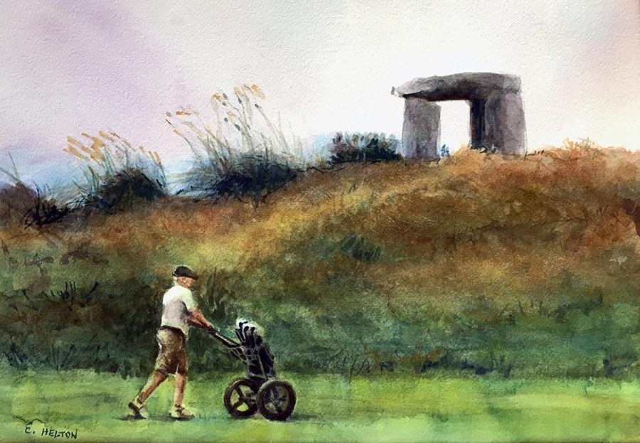 Iconic Golfer