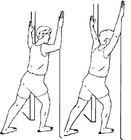 Doorway Chest Stretch Image