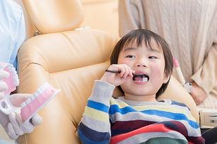 歯磨きの練習背景