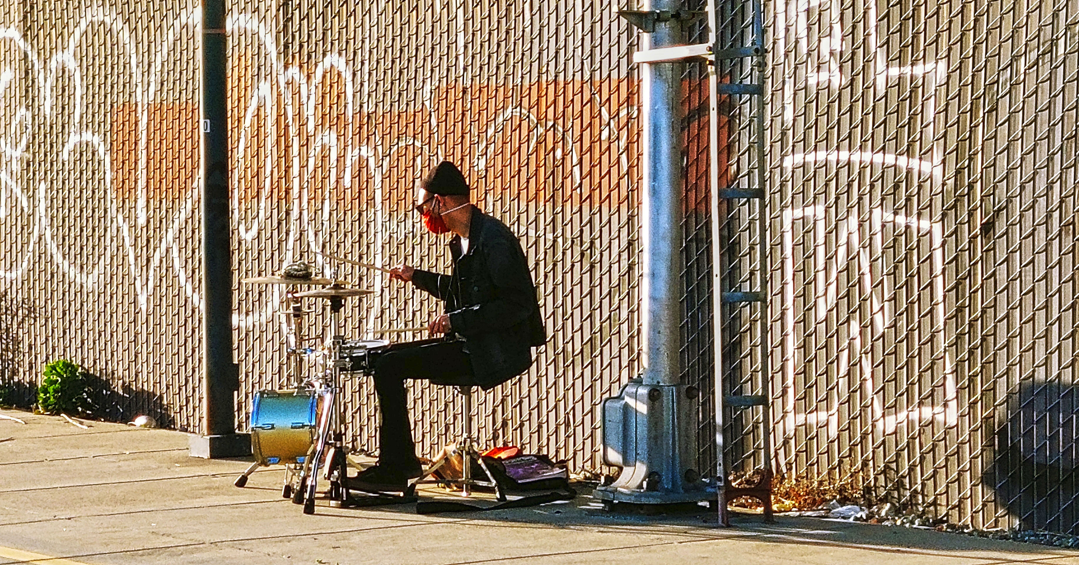 man and a drum (2020)