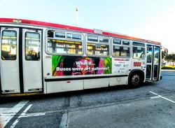 Muni bus exterior (2017)