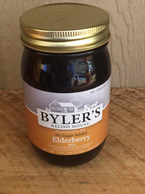 No Sugar Added Elderberry Jelly