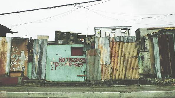 Barracas de favelas