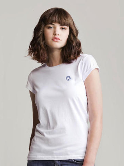 WUUFLY Organic Rolled Sleeve T-shirt